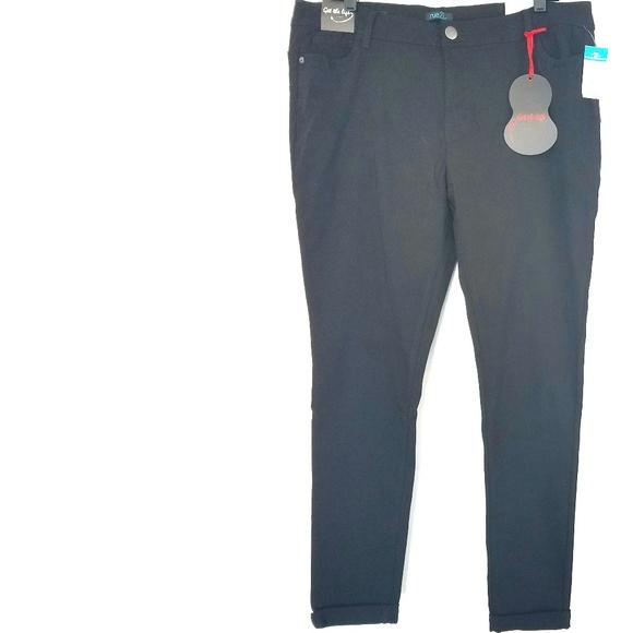 4634700d9fb 20 Rue+ Black  Get the Lift  Skinny Pants - NWT